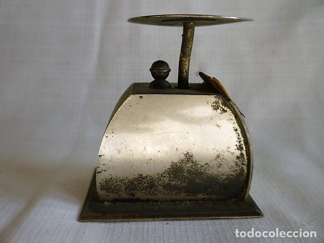 Antigüedades: MUY ANTIGUO PESO DE CARTERO DE ACERO REGULABLE, GRADUADO DE 0 A 100 GR.- GRAMM. CIRCA 1930 - Foto 6 - 153692518