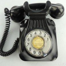 Teléfonos: TELEFONO NEGRO DE BAKELITA DE PARED, COMPAÑIA TELEFONICA NACIONAL DE ESPAÑA. Lote 153734806