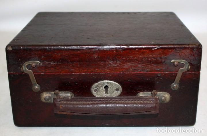 Antigüedades: INDICADOR DE DIAGRAMAS-VAPOR-MAIHAK-CON CAJA. - Foto 2 - 153739346
