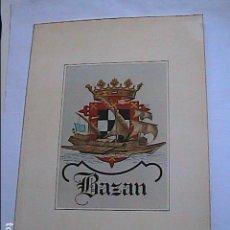 Antigüedades: MEMORIA GRÁFICA ASTILLEROS Y FABRICAS BAZAN EN ESPAÑA. 1950-1977.. Lote 153808782