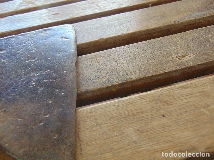 Antigüedades: ANTIGUO YUNQUE ??? TIPO COLA DE PEZ DE FORJA EN HIERRO, DE HOJALATERO O SIMILAR - Foto 5 - 153850034