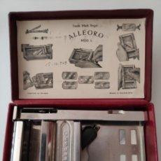 Antigüedades: ANTIGUO AFILADOR DE CUCHILLAS DE AFEITAR. Lote 153900102