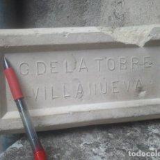 Antigüedades: BARRO - LADRILLO SELLADO - ALFAR DE JAÉN - CIRCA 1910 - CERÁMICA EXTINTA. Lote 153947710
