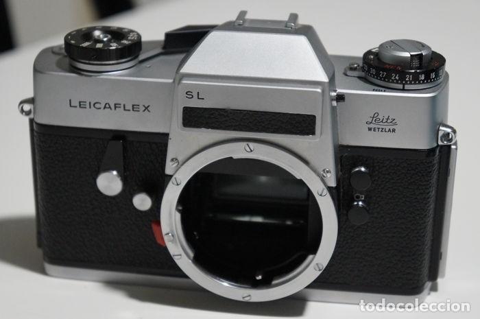 Antigüedades: Leica Leitz Wetzlar LEICAFLEX SL Summicron-R 50mm - Foto 2 - 137681414