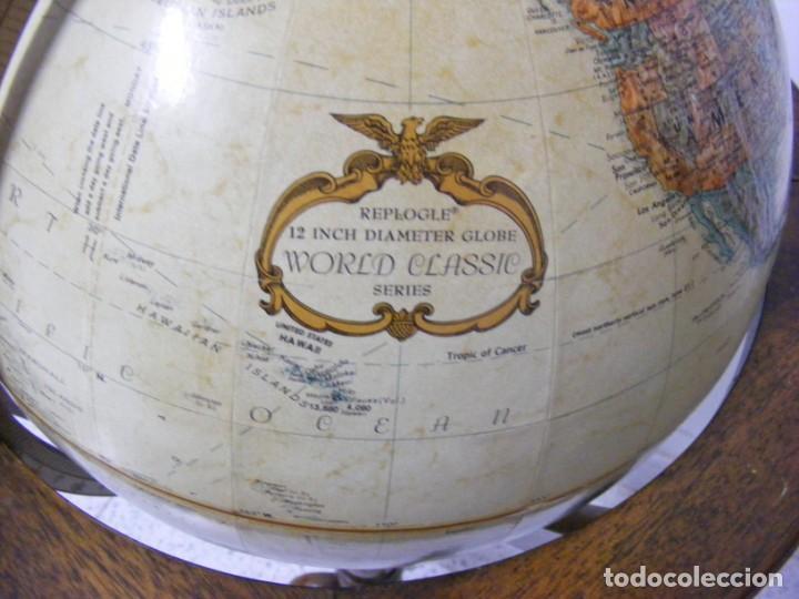 Antigüedades: GLOBO TERRAQUEO - Foto 4 - 154265746