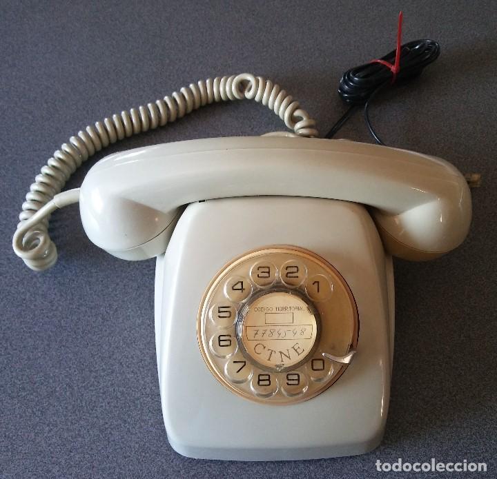 TELEFONO HERALDO CTNE (Antigüedades - Técnicas - Teléfonos Antiguos)