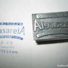 Antigüedades: IMPRENTA, GRABADO, MEDIDAS EN LA FOTOGRAFIA. Lote 154320910