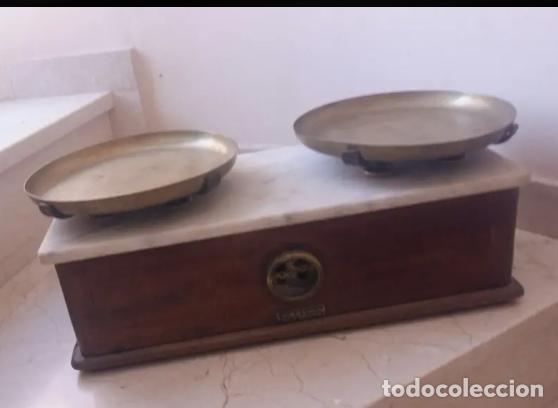 ANTIGUA BALANZA ARISÓ DE BARCELONA (Antigüedades - Técnicas - Medidas de Peso - Balanzas Antiguas)