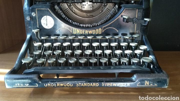 MAQUINA DE ESCRIBIR (Antigüedades - Técnicas - Máquinas de Escribir Antiguas - Underwood)