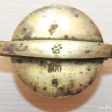 Antiquités: PONDERALES EN VASOS ANIDADOS, BRONCE, COMPLETO, D.R.. Lote 154381734