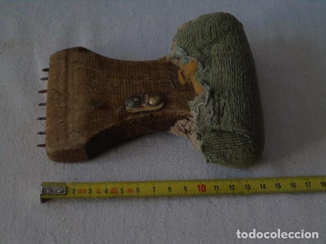 Antigüedades: HERRAMIENTA ANTIGUA PARA EL TRABAJO DE LA REJILLA ? - Foto 4 - 154401102