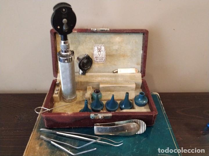 WELCH ALLY. - ANTIGUO OTOSCOPIO MEDICO (Antigüedades - Técnicas - Herramientas Profesionales - Medicina)