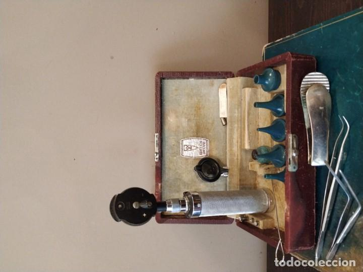 Antigüedades: WELCH ALLY. - ANTIGUO OTOSCOPIO MEDICO - Foto 2 - 154508974