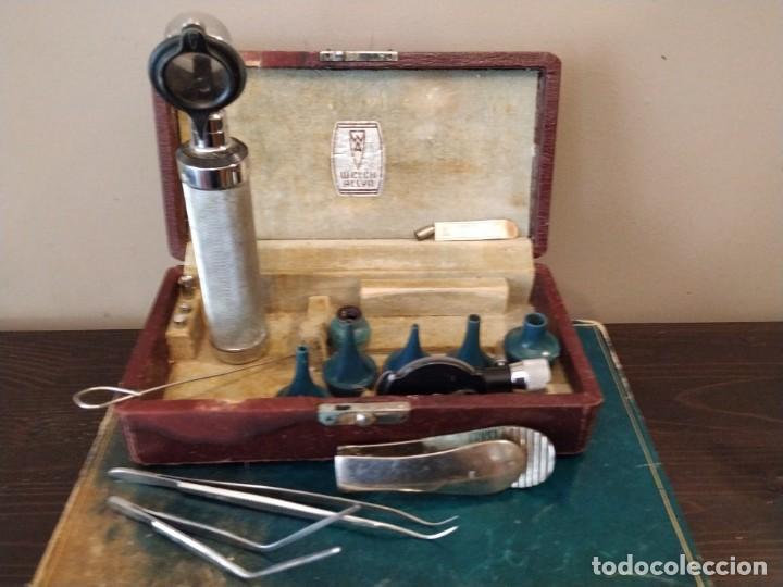Antigüedades: WELCH ALLY. - ANTIGUO OTOSCOPIO MEDICO - Foto 3 - 154508974