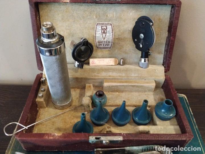 Antigüedades: WELCH ALLY. - ANTIGUO OTOSCOPIO MEDICO - Foto 4 - 154508974