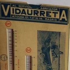 Antiguidades: CALCULO DE CAPACIDAD DE TRABAJO MAQUINAS AGRICOLAS,Y ACARREO DE LA COSECHA DE UNA PARCELA-VIDAURRETA. Lote 154593290