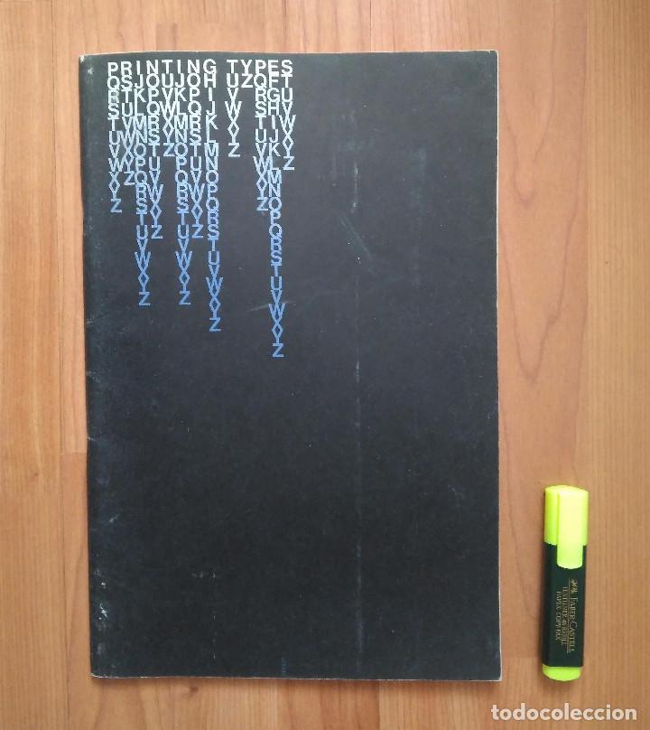 ESPECIMEN / CATALOGO TIPOS IMPRENTA LAYTON USA (PRINTED TYPES SPECIMEM BOOK) (Antigüedades - Técnicas - Herramientas Profesionales - Imprenta)