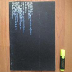 Antigüedades: ESPECIMEN / CATALOGO TIPOS IMPRENTA LAYTON USA (PRINTED TYPES SPECIMEM BOOK). Lote 154808330