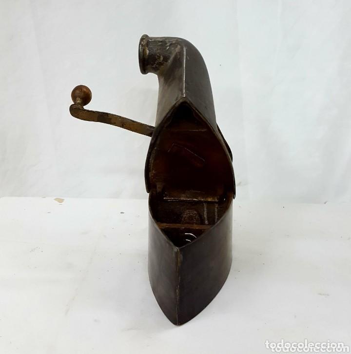 Antigüedades: plancha de carbon - Foto 3 - 154832166