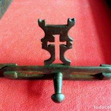Antigüedades: RECOGEDOR DE CENIZAS DE CONVENTO EXTENSIBLE. Lote 154839414