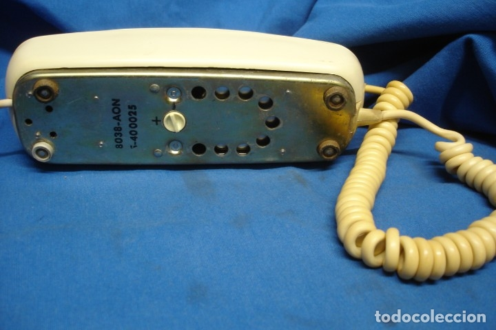 Teléfonos: ANTIGUO TELÉFONO MODELO GÓNDOLA DE TELEFÓNICA - FUNCIONA - Foto 6 - 154853454