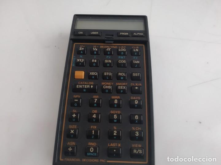 antigua calculadora hp hewlett packard 41 cv