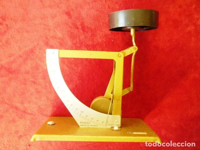 BALANZA PESO DE CARTERO PESACARTAS ANTIGUO, MARCA POSSO GRADUADO DE 0 A 350 GRS. (Antigüedades - Técnicas - Medidas de Peso - Balanzas Antiguas)