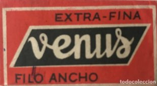 Cuchilla de afeitar antigua Venus, extra-fina