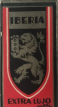 Cuchilla de afeitar antigua Iberia. Extra lujo