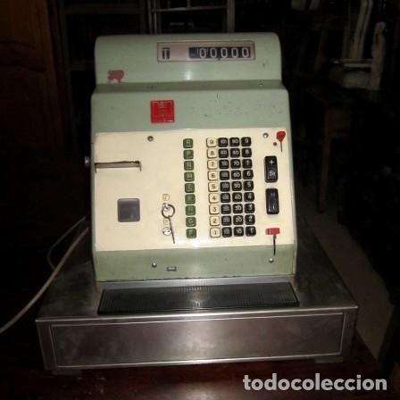 MAQUINA REGISTRADORA VINTAGE (Antigüedades - Técnicas - Aparatos de Cálculo - Cajas Registradoras Antiguas)