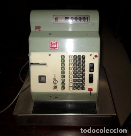 Antigüedades: Maquina registradora vintage - Foto 2 - 155114570