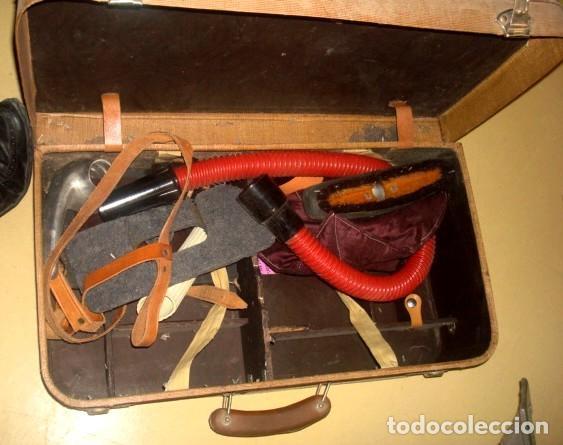 Antigüedades: Aspiradora de los años 40, marca Cadet, en su maleta original - Foto 5 - 155119302