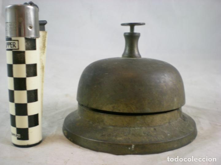 Antigüedades: Timbre de Hotel - Bronce - Foto 2 - 155150278