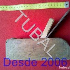 Antigüedades: TUBAL CEPILLO CARPNTERO COMPLETISIMO. Lote 155275534