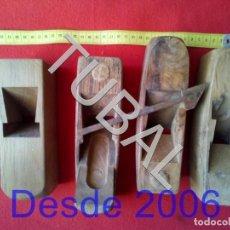 Antigüedades: TUBAL CEPILLOS CARPNTERO HERRAMIENTAS TODO LO QUE SE VE EN LAS FOTOS. Lote 164961774