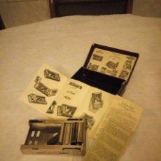 Antigüedades: ANTIGUA MAQUINA PARA AFILAR CUCHILLAS MARCA ALLEGRO MOD-L,MADE IN SWITEZRLAND . Lote 155312330