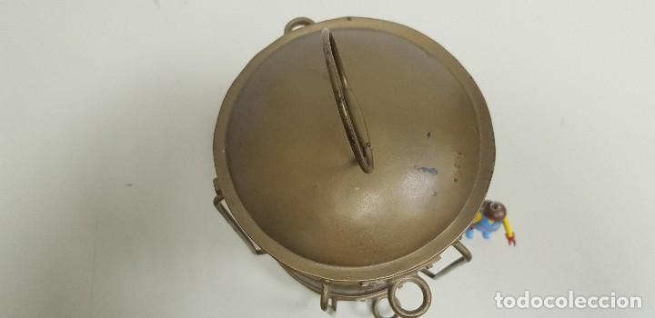 Antigüedades: 419- ANTIGUO FARO-FANAL-FAROL DE BARCO TODO ORIGINAL 34 CMS ALTURA OPORTUNIDAD!!!! - Foto 4 - 155348414