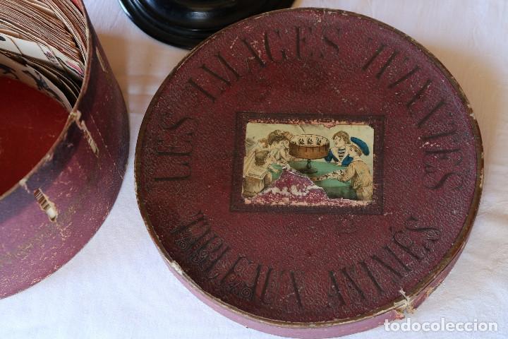 Antigüedades: ZOOTROPO – ZOETROPE - LES IMAGES VIVANTES TABLEAUX ANIMES - PARIS SEGUNDA MITAD SIGLO XIX - Foto 5 - 53390063