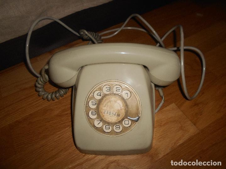 Teléfonos: TELÉFONO MODELO HERALDO AÑOS 60 COLOR GRIS - Foto 2 - 155380802