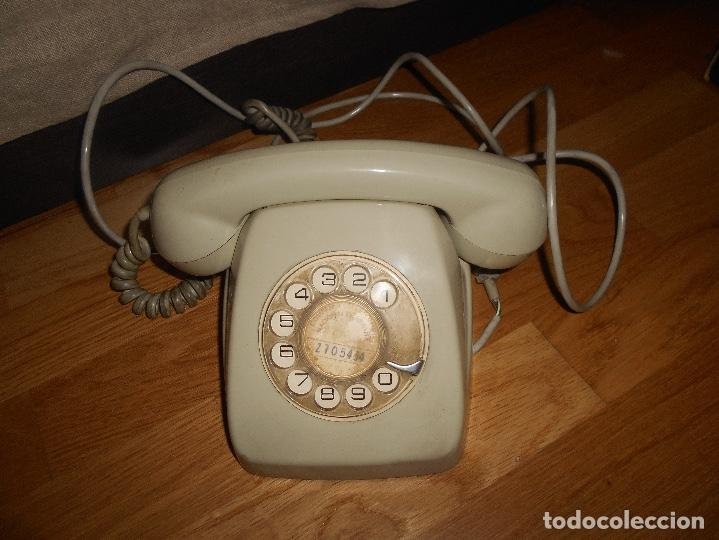Teléfonos: TELÉFONO MODELO HERALDO AÑOS 60 COLOR GRIS - Foto 3 - 155380802