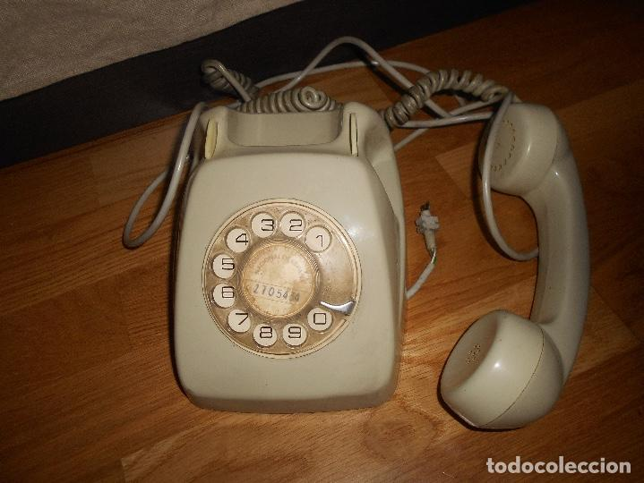 Teléfonos: TELÉFONO MODELO HERALDO AÑOS 60 COLOR GRIS - Foto 4 - 155380802