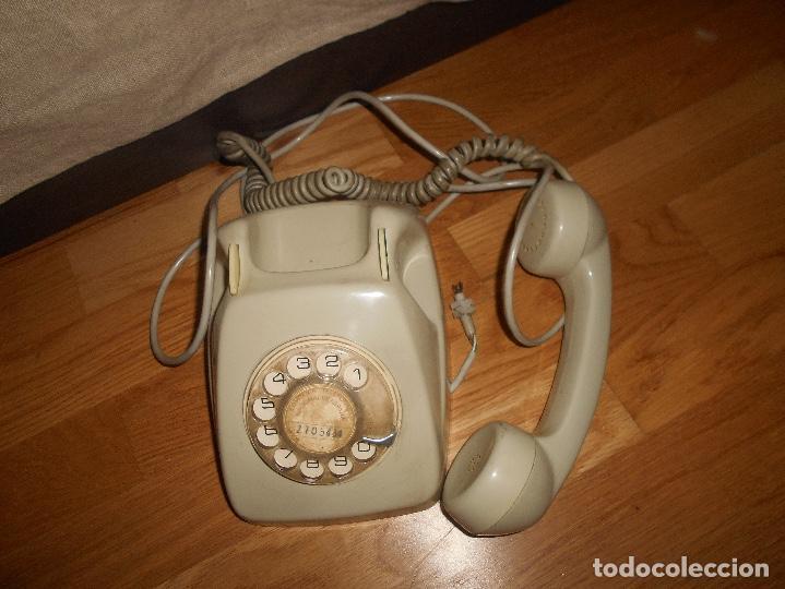 Teléfonos: TELÉFONO MODELO HERALDO AÑOS 60 COLOR GRIS - Foto 5 - 155380802
