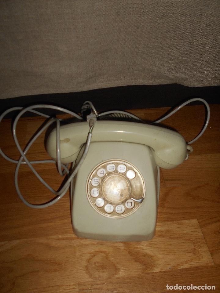 Teléfonos: TELÉFONO MODELO HERALDO AÑOS 60 COLOR GRIS - Foto 7 - 155380802