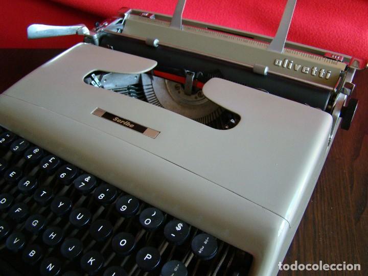 Antigüedades: Muy rara OLIVETTI Scribe prototipo de la Lettera 22 Ivrea Italia - Foto 5 - 155441054