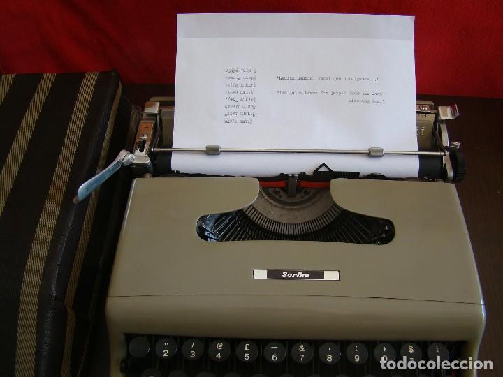 Antigüedades: Muy rara OLIVETTI Scribe prototipo de la Lettera 22 Ivrea Italia - Foto 7 - 155441054