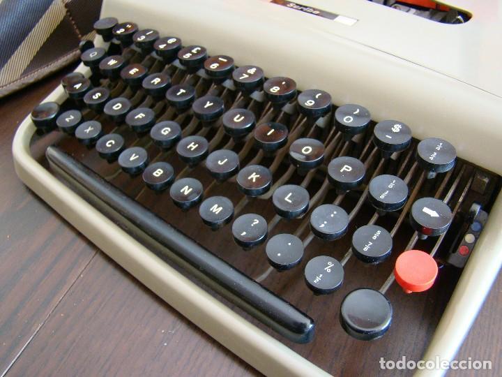 Antigüedades: Muy rara OLIVETTI Scribe prototipo de la Lettera 22 Ivrea Italia - Foto 9 - 155441054
