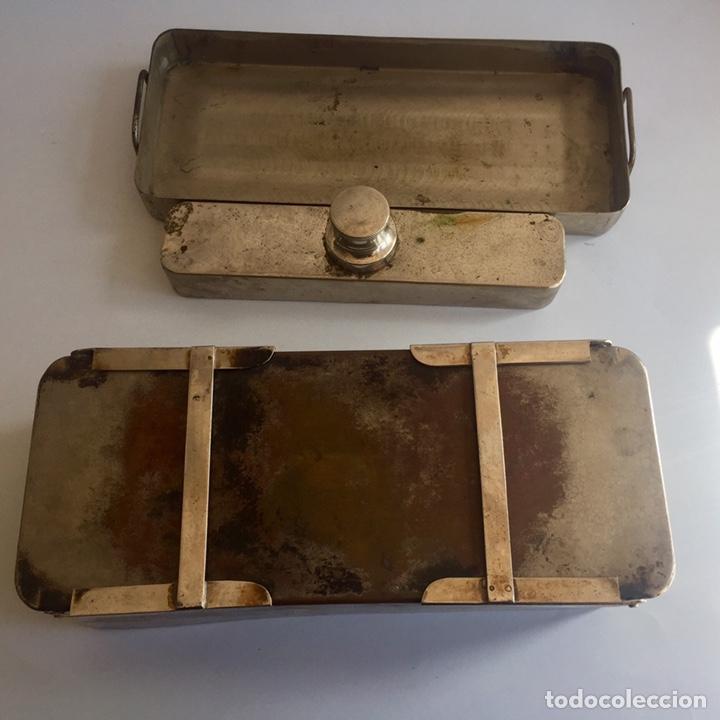 Antigüedades: Antiguo esterilizador para instrumental médico quirúrgico - Foto 6 - 155453092