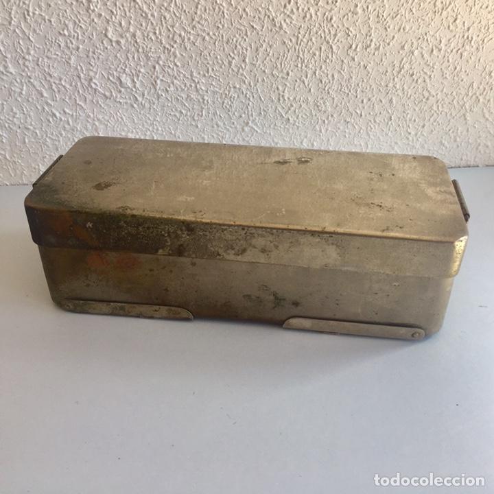 Antigüedades: Antiguo esterilizador para instrumental médico quirúrgico - Foto 7 - 155453092