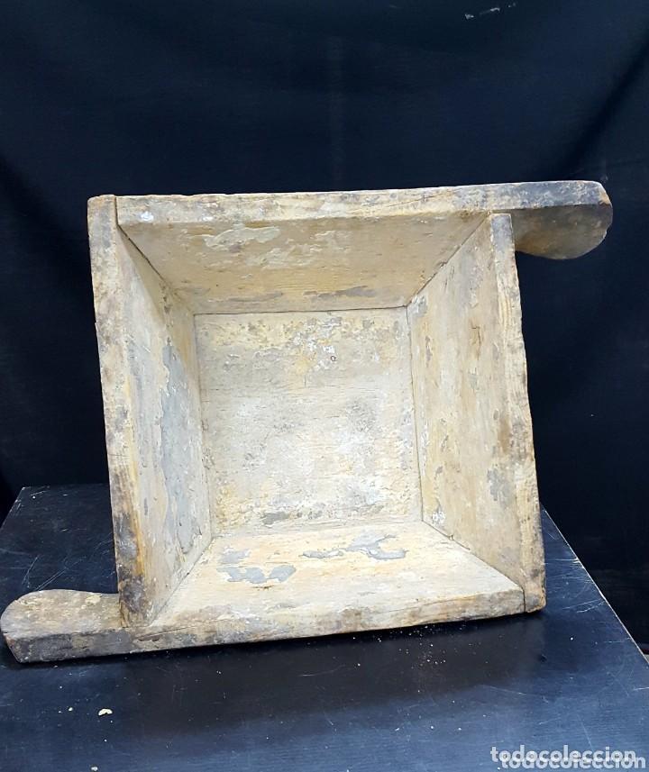 PASTERA DE MADERA (Antigüedades - Técnicas - Herramientas Profesionales - Albañileria)