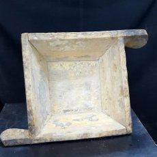 Antigüedades: PASTERA DE MADERA. Lote 155461646
